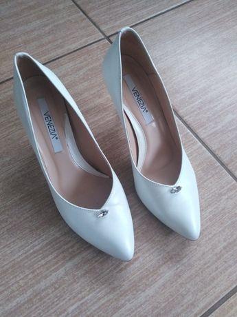 Buty ślubne 39 plus baleriny gratis