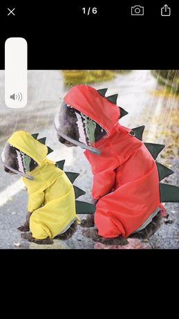 Дождевик одежда на собаку дракон