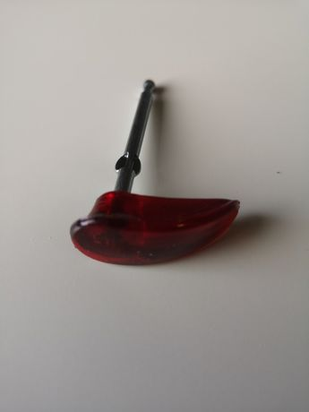 Kluczyk stacyjki WSK 125 50mm czerwony