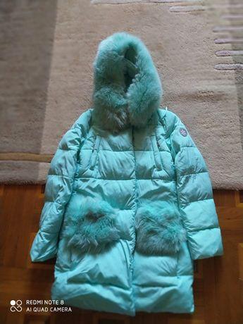Пуховик пальто Кико для девочки.