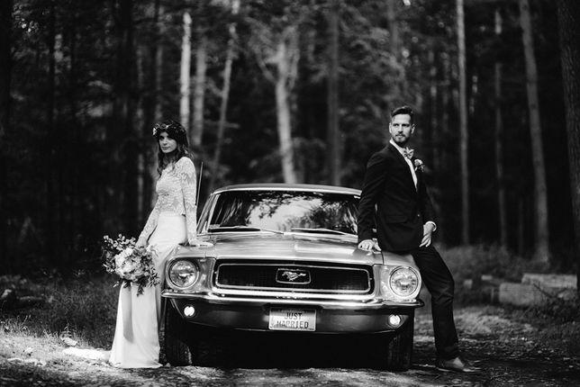 Ford Mustang 1968 Do ślubu - Wolne terminy ! Mustangiem do ślubu !