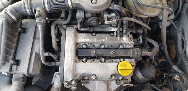 Silnik kompletny 1.0 12V ecotec 1000cm3 Opel corsa B C meriva części