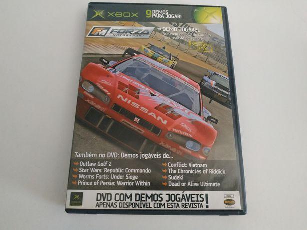 Xbox 1 Classic Xbox 360 - como novo jogo de demos Forza Motorsport