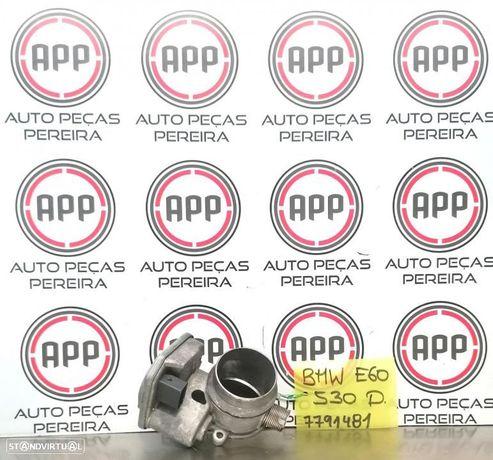 Borboleta de admissão BMW E60 530D de 2005 referência 7791481.