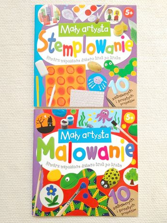 Mały artysta Stemplowanie Malowanie książki plastyczne dla dzieci