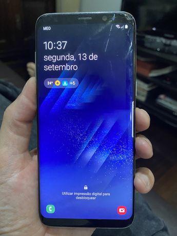 Samsung S8 a funcionar