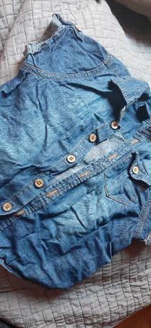 Koszula jeansowa dla chłopca rozmiar 92