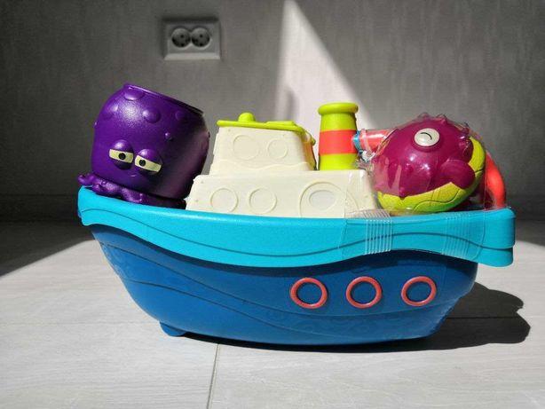 Чудный корабль. Игровой набор для водных игр. Battat
