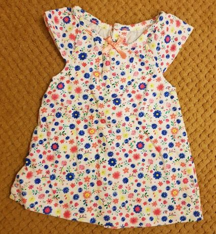 Tunika bluzka bluzeczka w kwiaty na lato dla dziewczynki