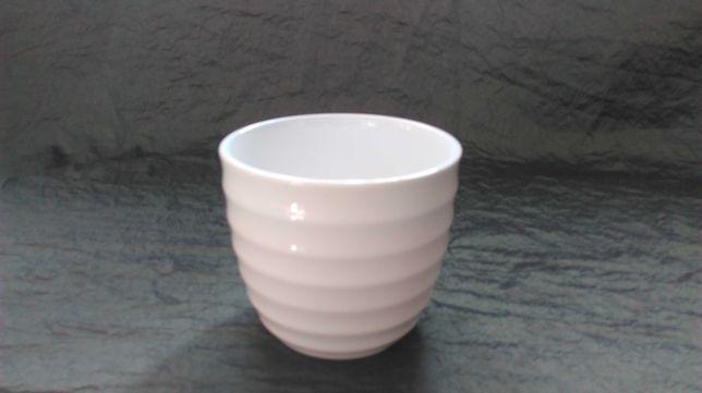 DONICZKA biała ceramika 13x11h Polnix NOWA