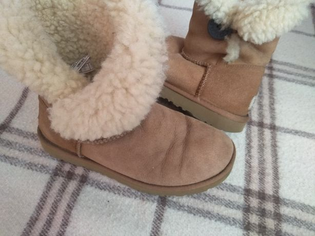 UGG BAILEY BUTTON 37 super śniegowce BDB