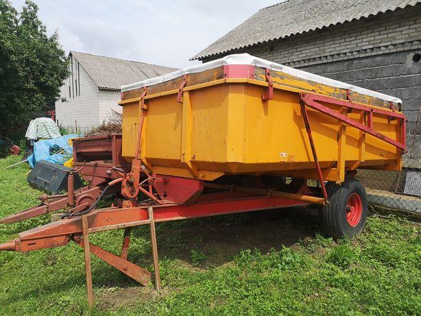 Przyczepa Miedema jednoosiowa 6 ton