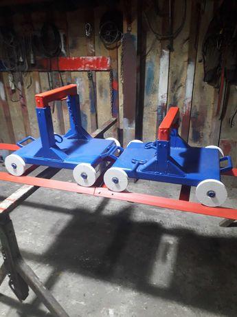 Wózki do rozjerzdzania traktorów