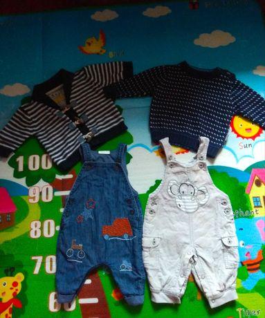 Комплект лот одягу на хлопчика  Next 0-3м 56-62р