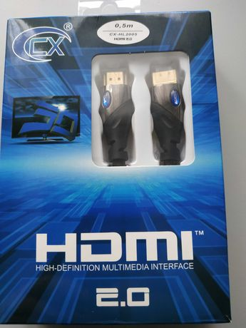 Kabel HDMI CX-HL 2.0 ,0,5m