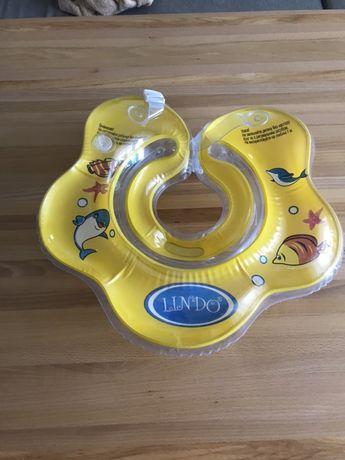 Детский круг для купания и термометр для воды