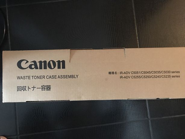 2 Canon Waste Toner NOVOS