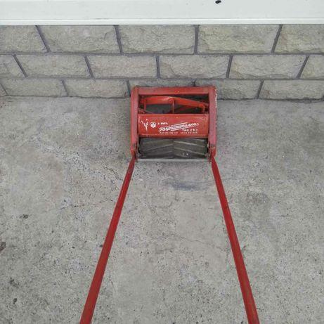 винтажная  ручная газонокосилка модель ГК -1 рига