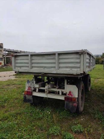 Przyczepa Autosan D-732 kiper rolnicza ciężarowa 4T