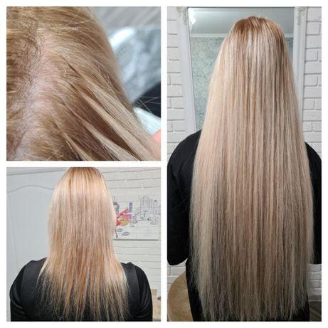 Наращивание волос качественно. Коррекция по цене наращивания!
