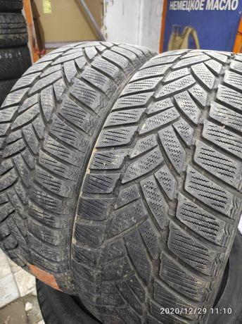 215.50.17 Dunlop 2шт зима БУ склад шины резина из Европы
