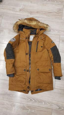 Kurtka zimowa dziecięca z kapturem Reserved Outer Jacket rozmiar 146cm