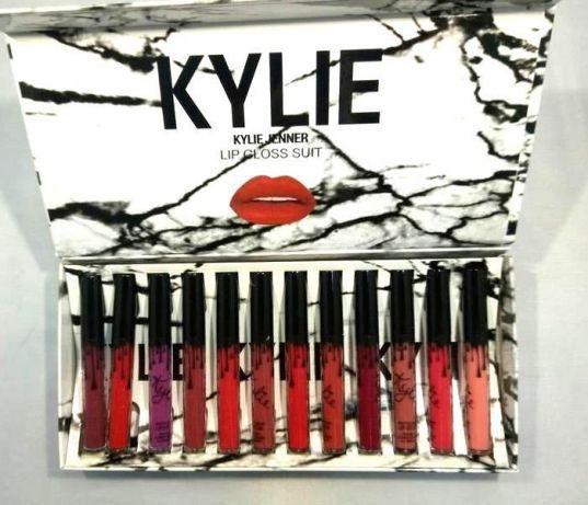 Набор помад Kylie White в коробке 12 в 1