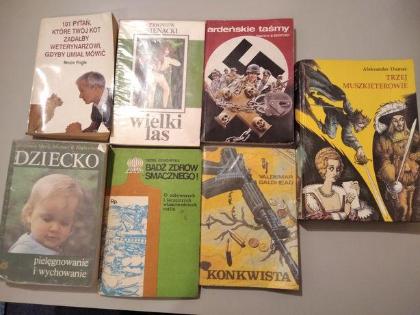Książki różne 5zl/szt