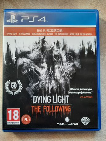Dying light PS4, zombie