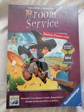 Gra planszowa Broom Service Szalone Czarownice PL