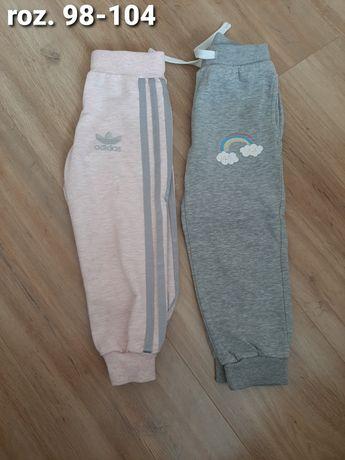 Spodnie dresowe 98/104 2-pak