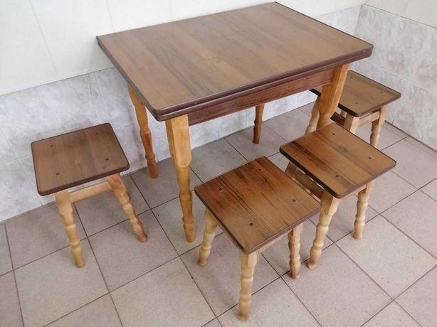 Кухонный стол с Табуретами!!! Лучшая Цена. СКЛАД!