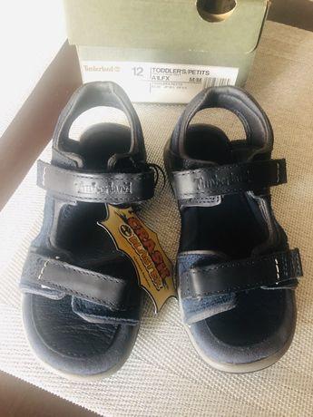 Sandałki skórzane Timberland