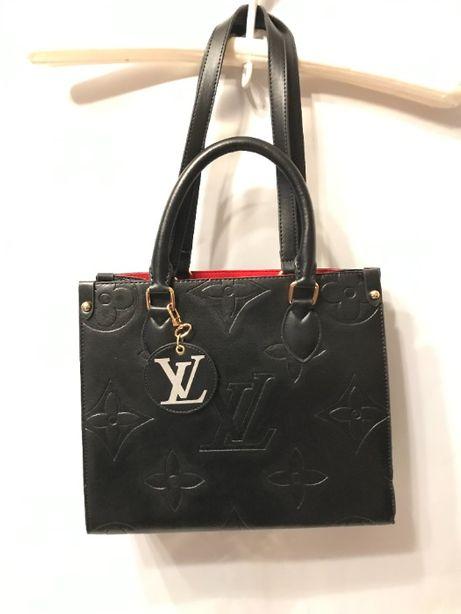 Louis vuitton torba usztywniana czarna