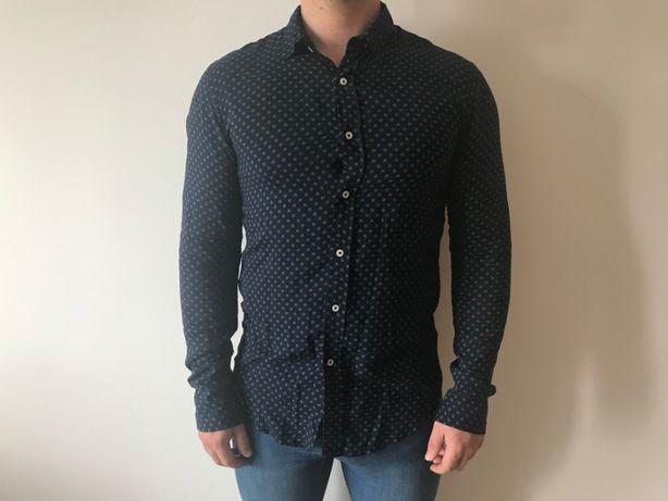 Camisa Zara Azul