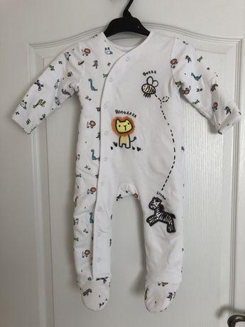 Pajacyk piżamka 80cm