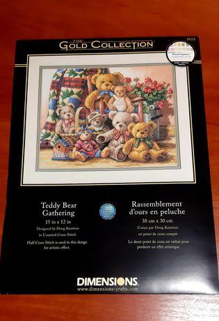 Dimensions 35115 Teddy Bear Gathering
