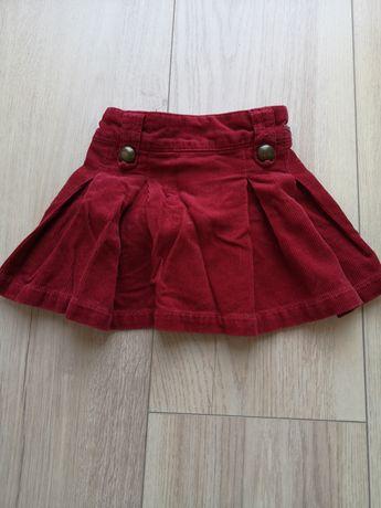 Spódnica sztruksowa Zara