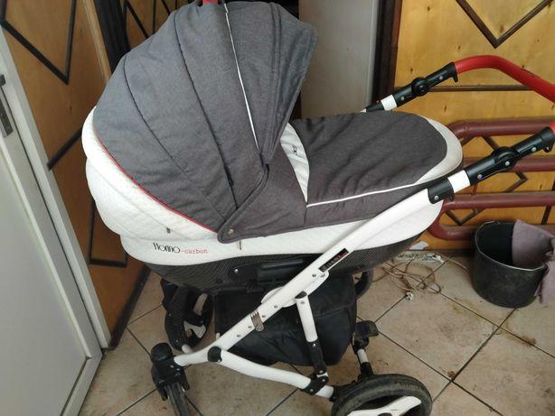 Wózek coletto carbon 3w1 plus adaptery