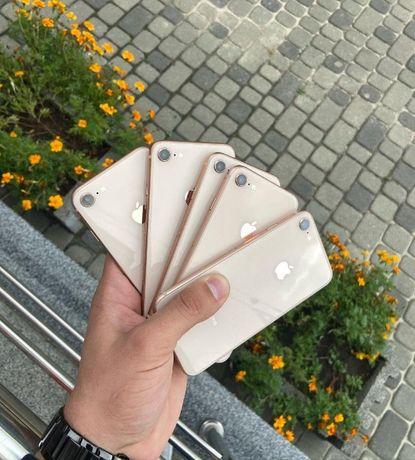 СКИДКА!! iPhone 8 64GB 256 GB ! Gold Red Silver*ВСЕ Цвета* + ПОДАРОК *