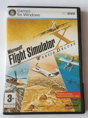 Microsoft Flight Simulator X Wersja Deluxe PL - Windows PC