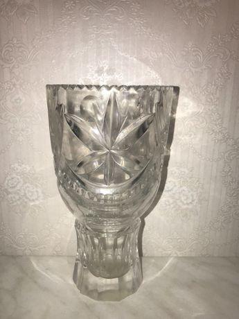 Хрустальная ваза 20 см