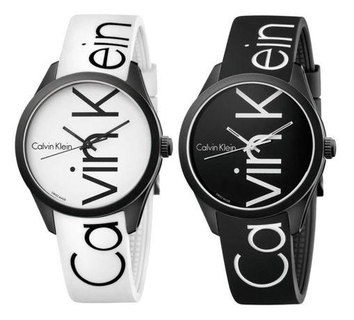 Zegarki silikonowe CK Calvin Klein, BIAŁY I CZARNY, odbiór lub wysyłka