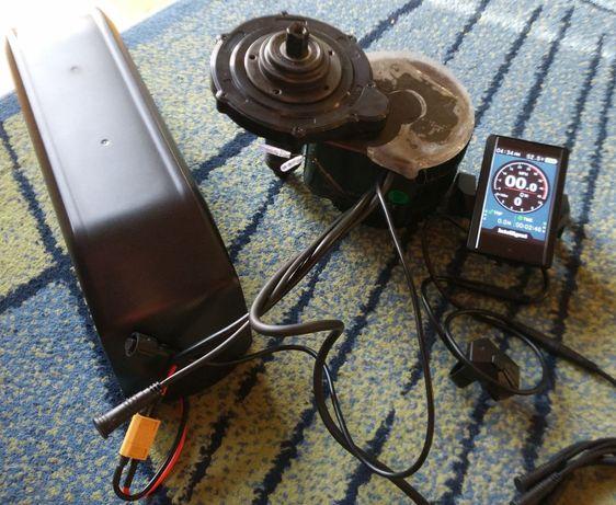 Zestaw silnik Bafang BBS02B 48V 750W P850C + Akumulator bidon 17,5Ah