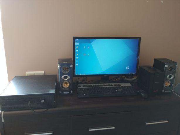 Zestaw HP Pro Desk (komputer,  monitor,  inne)