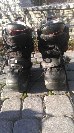 buty snowboardowe rozmiar 38 czarne snowboard step-in stepin step in