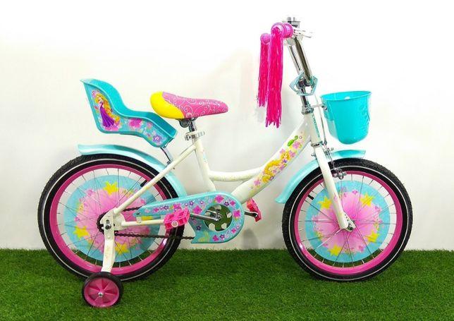 Дитячий двоколісний велосипед 16 дюймів Azimut Girls