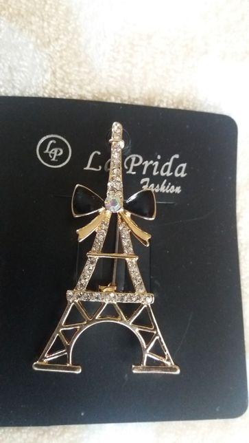 Брошь Эйфелевая башня