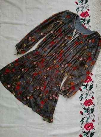 Шифоновое платье EDC