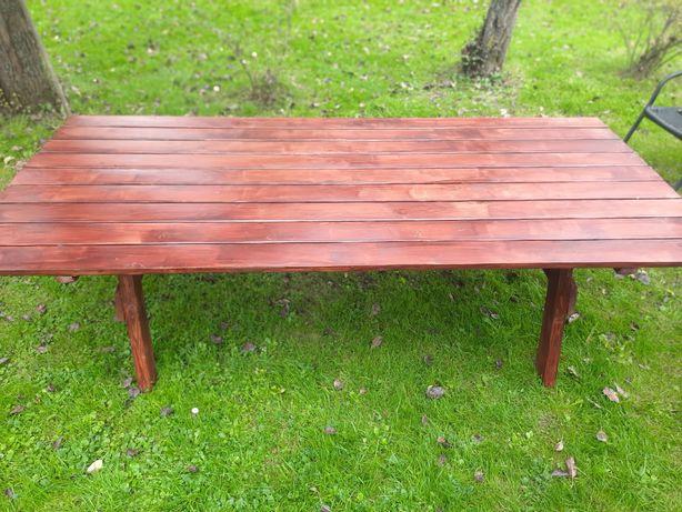 Meble ogrodowe stół+ławka